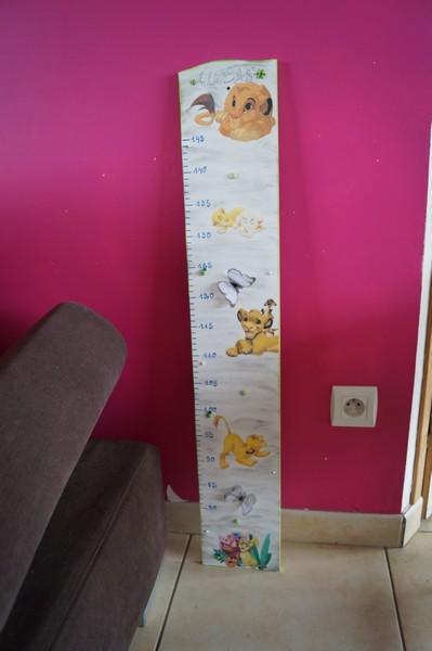 Toise roi lion for Decoration chambre le roi lion