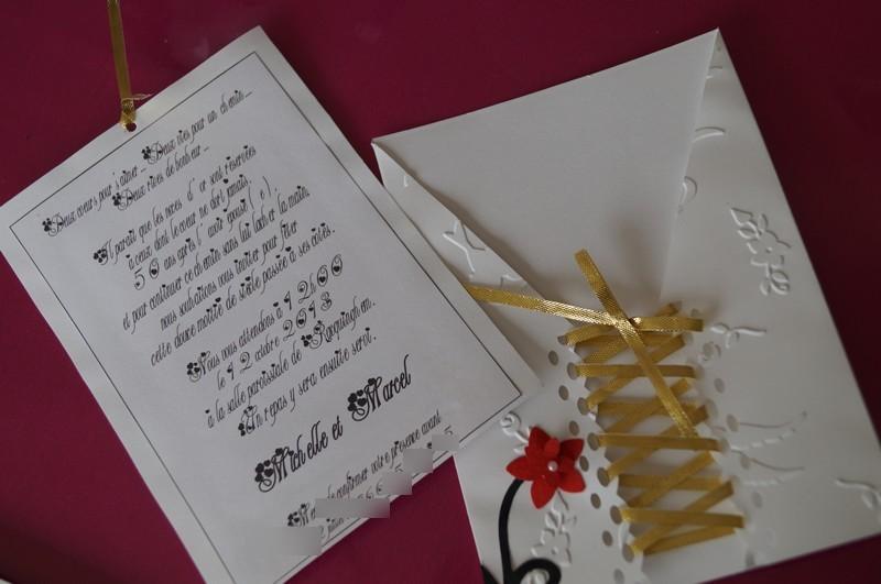 Faire part anniversaire 50 ans de mariage for 50 robes de mariage anniversaire